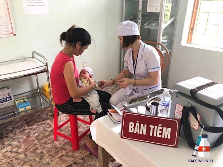 Tiêm ngừa viêm gan B tại cơ sở y tế