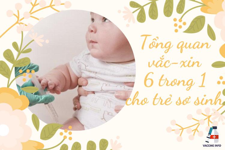 Tổng quan vắc-xin 6 trong 1 cho trẻ sơ sinh