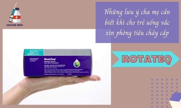 vắc xin Rotateq