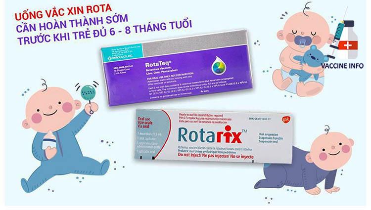Uống vắc-xin Rota khi nào?